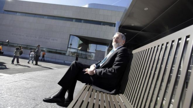 Architect 'touches the fabric of the city with his heart'