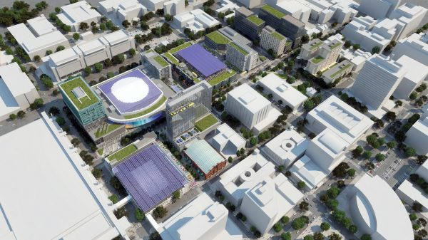 Coliseum redevelopment planning leans on local businesses
