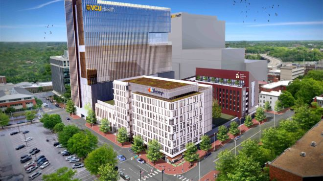 Developers look to salvage part of Navy Hill plan with $350M project, anchored by 20-story tower