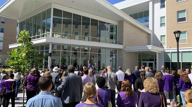 JMU celebrates grand opening of Paul Jennings Hall